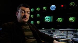 Charlie Brooker gazes into 'Black Mirror'