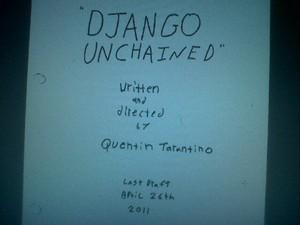 Tarantino's spaghetti western gets a name