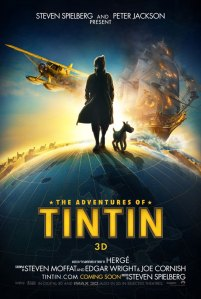 The first glimpse of Tintin and two clips from Super 8