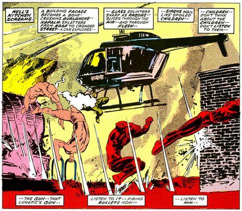 THE COMIC COMPENDIUM #1: Daredevil: Born Again (1986)