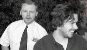 Simon Pegg and Edgar Wright prepare for The World's End