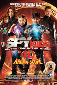 REVIEW: Spy Kids: All the Time in the World in 4D (2011)