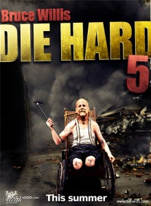 Who will play John McClane's son in A Good Day to Die Hard?